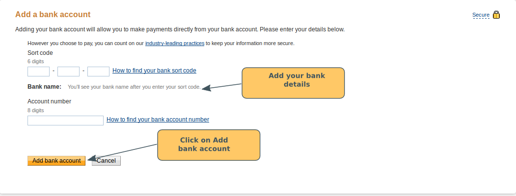 Paypal Set-Up: Linking your bank account