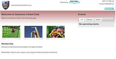 Cricket Club Software